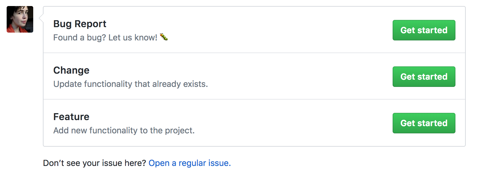 Github Templates in Ten Minutes